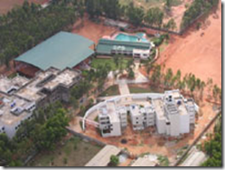 dps bangalore north aerial view